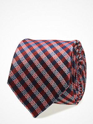 Slipsar - Tommy Hilfiger Tailored Silk Check 7cm Tie