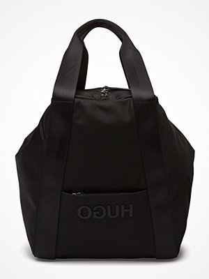 Hugo svart shopper Record Tote