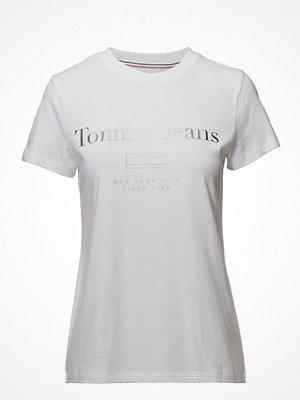 Tommy Jeans Tjw Metallic Flag Logo Tee