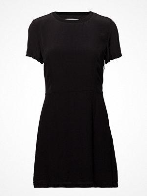 Calvin Klein Jeans Faux Silk Short Sleeve Dress