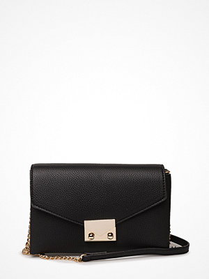 Mango svart axelväska Chain Cross Body Bag