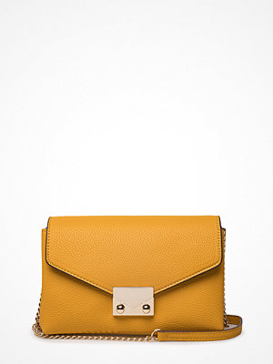 Mango omönstrad axelväska Chain Cross Body Bag