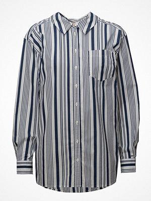Tommy Jeans Tjw Stripe Neck Detail Shirt