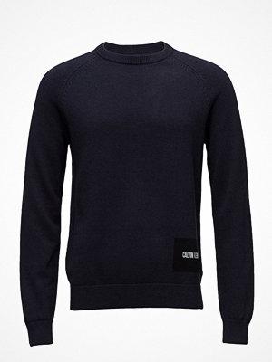 Calvin Klein Jeans Wool Blend Institutional Logo Sweater