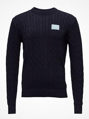 Calvin Klein Jeans Cable Knit Cotton Sweater
