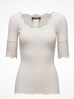 Rosemunde Silk T-Shirt Regular Ss W/Wide Lace