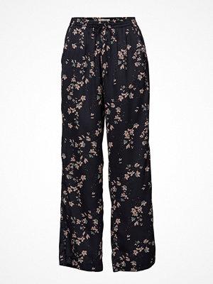 Rosemunde svarta byxor med tryck Trousers