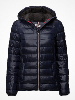 Dunjackor - Tommy Jeans Tjw Basic Quilted Hooded Jacket