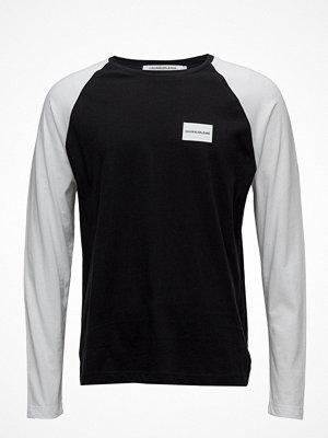 Calvin Klein Jeans Raglan Contrast Long Sleeve Tee