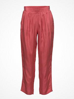 Coster Copenhagen röda byxor Pants W. Tape In Side Seam
