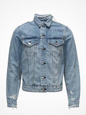 Jeansjackor - Cheap Monday Legit Jacket Pixel Blue