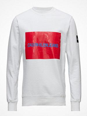 Calvin Klein Jeans Multi Logo Fleece Sweatshirt