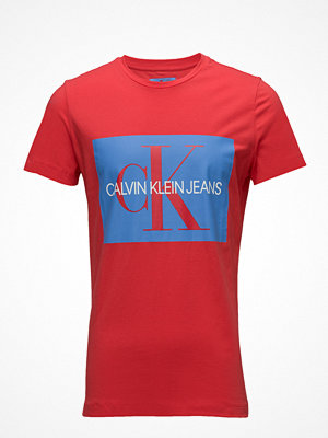 Calvin Klein Jeans Monogram Box Logo Slim Tee
