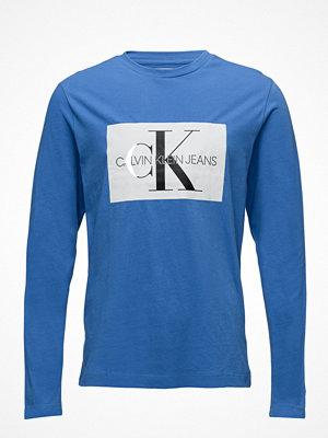 Calvin Klein Jeans Monogram Box Logo Cotton Long Sleeve Tee