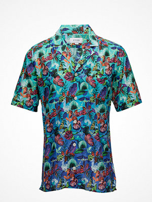Eton Hawaii Print Resort Shirt