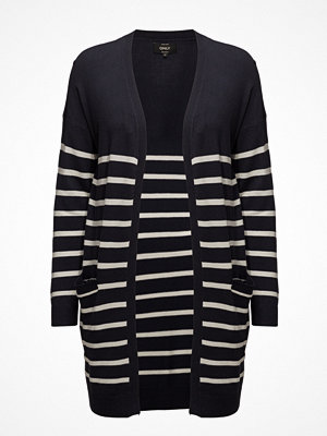 Only Onlmila Stripe L/S Long Cardigan Knt