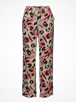 Pulz Jeans mönstrade byxor Madonna Loose Pant