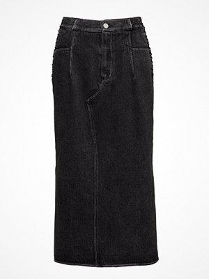 3.1 Phillip Lim Denim Skirt W Lacing