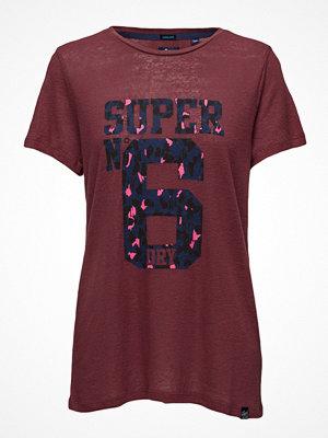 Superdry Super 6 Long Line Tee