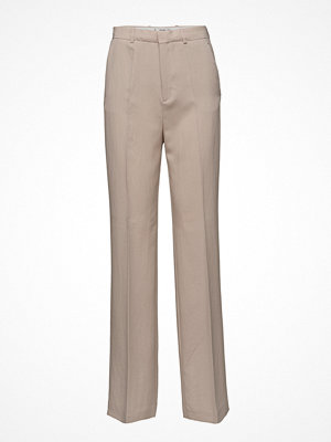 Mango omönstrade byxor Straight Suit Trousers