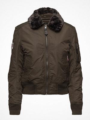 Superdry omönstrad bomberjacka Sdr Winter Flite Jacket