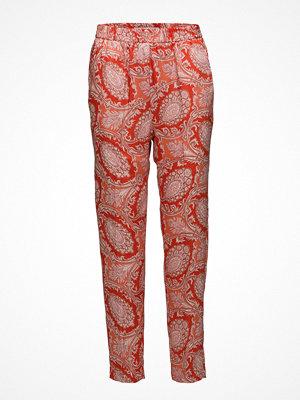 Mango mönstrade byxor Paisley Print Trousers