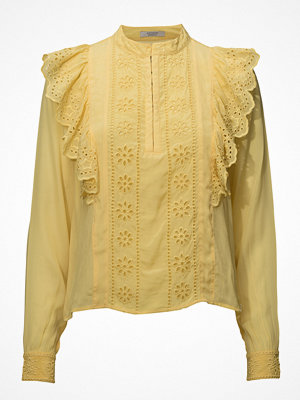 Scotch & Soda Feminine Top With Embroidery