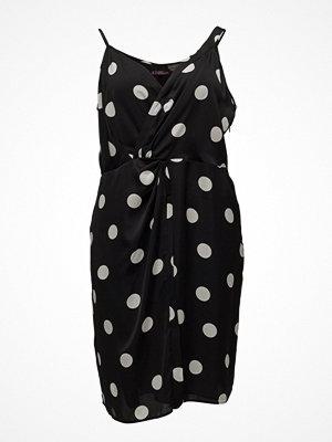 Violeta by Mango Polka Dots Draped Dress