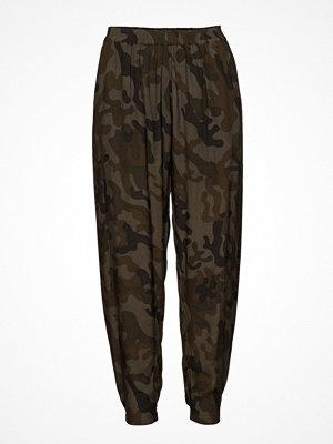 Rabens Saloner mönstrade byxor Camouflage Pant