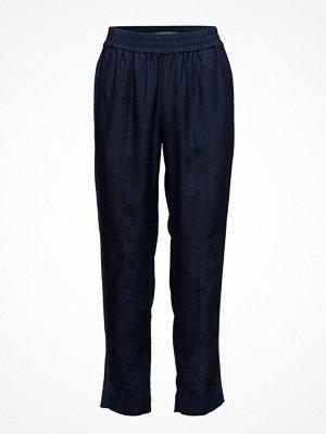Scotch & Soda marinblå byxor Feminine Tapered Pants