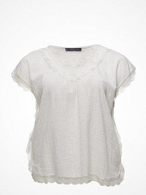 Violeta by Mango Guipure Panel T-Shirt