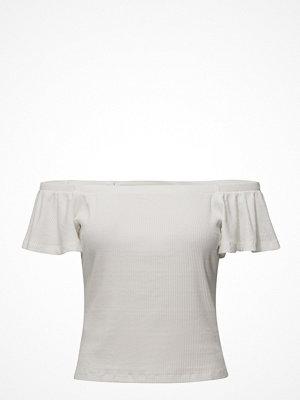 Linnen - Mango Off-Shoulder T-Shirt