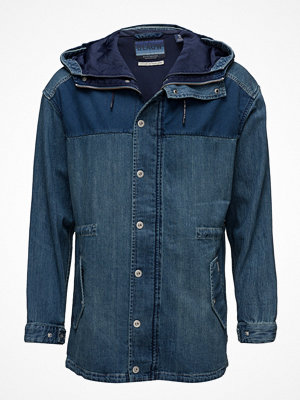 Jeansjackor - Scotch & Soda Ams Blauw Denim Jacket