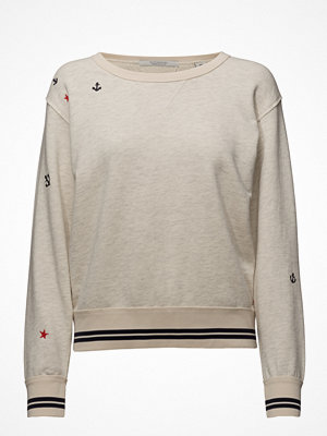 Scotch & Soda Vintage Inspired Sweat With Small Embroideries