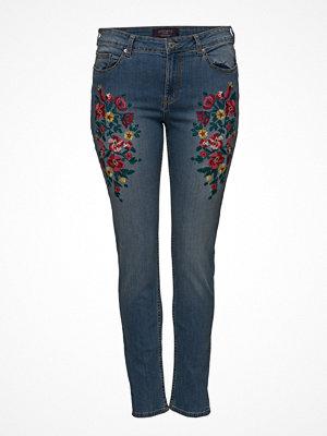 Violeta by Mango Alexia Embroidery Super Slim-Fit Jeans