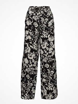 Mango mönstrade byxor Bow Printed Trouser