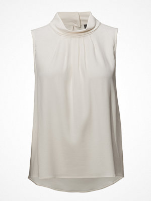 Sand Crepe Satin Back - Prosa Top