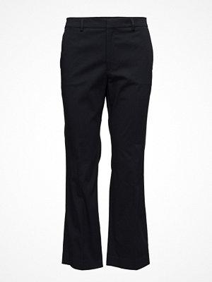 Filippa K svarta byxor Hudson Cotton Cropped Trousers