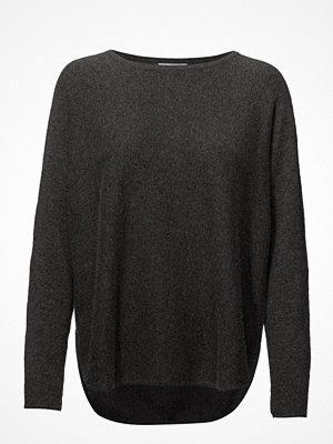 Davida Cashmere Curved Sweater