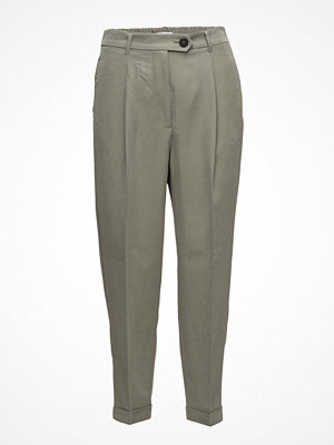 Mango omönstrade byxor Modal Suit Trousers