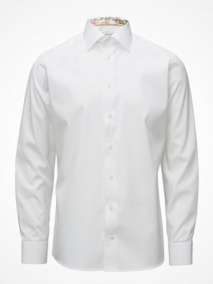 Eton White Shirt With Skyline Of Lisbon Print