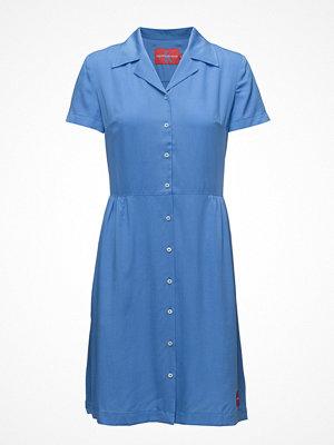 Calvin Klein Jeans Drapey Tencel Short Sleeve Tea Dress