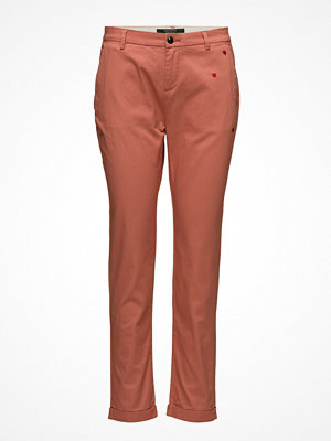 Scotch & Soda omönstrade byxor Chino With Small Embroidery