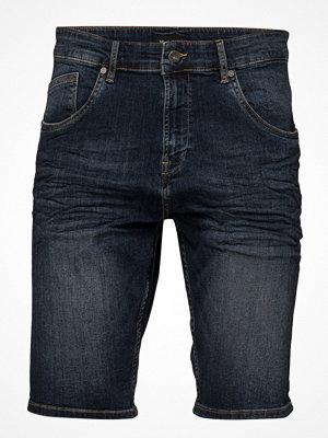 Shorts & kortbyxor - Matinique Cal Denim Crop Blue Vintage Washed