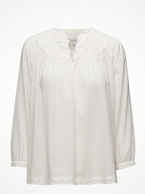 Scotch & Soda Woven Top With Subtle Embroidery