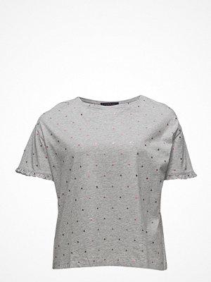 Violeta by Mango Cotton Polka Dot T-Shirt