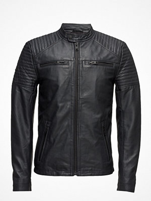 Superdry Leather Quilt Racer