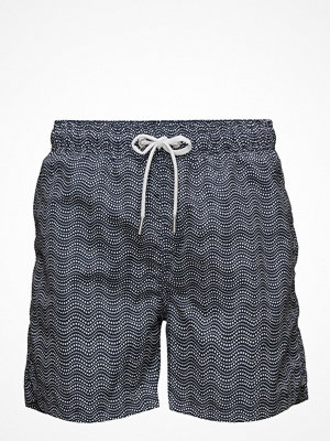 Badkläder - Gant Wave Dot Swim Shorts C.F.