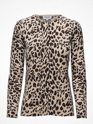 Davida Cashmere Cardigan Leopard