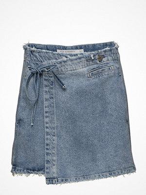 Zoe Karssen Wrap Mini Skirt Ripped